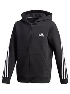 adidas-boysnbsp3-stripes-full-zip-hoodie-black