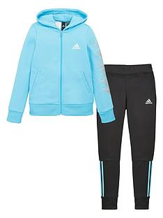 adidas-girls-hooded-tracksuit-blue