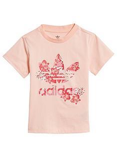 adidas-originals-childrensnbsptrefoil-t-shirt-coral