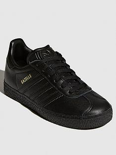 adidas-originals-gazelle-childrens-trainers-black