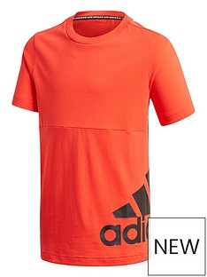 adidas-boys-badge-of-sport-t2-t-shirt-red