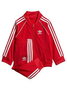 adidas-originals-childrens-sst-tracksuit-red