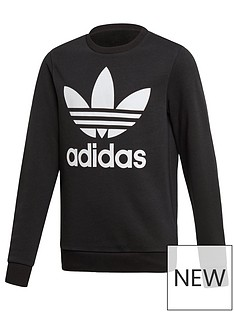 adidas-originals-trefoil-crew-neck-sweat-top-black