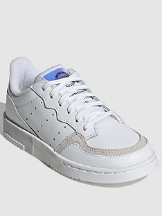 adidas-originals-supercourt-childrens-trainers-white