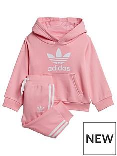 adidas-originals-younger-kidsnbsptrefoil-hoodie-pink