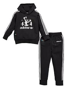 adidas-originals-childrensnbspgoofy-tracksuit-black