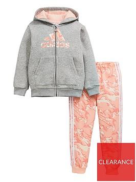 adidas-infants-logo-full-zip-hood-fleece-and-joggers-setnbsp--grey-heather