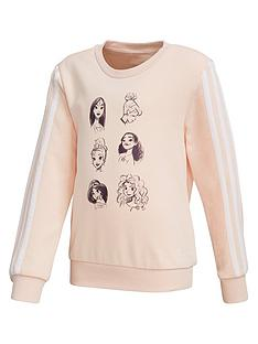 adidas-girls-disney-crew-neck-top-pink