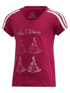 adidas-girls-disney-t-shirt-purple