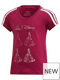 adidas-girls-disney-t-shirt-purple