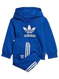 adidas-originals-infantnbsptrefoil-jog-set-blue