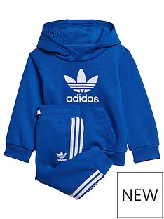adidas-originals-infantnbsptrefoil-jog-set-blue