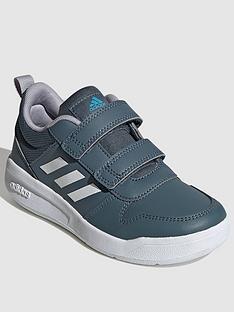 adidas-tensaur-childrens-trainers-greywhite