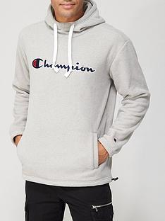 champion-mensnbsppolar-fleece-overhead-hoodie-grey