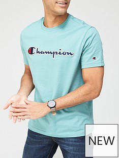 champion-t-shirt-green