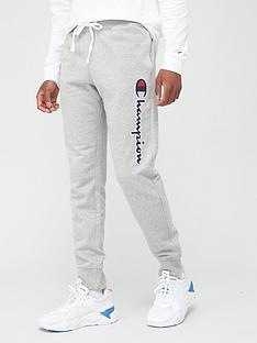 champion-logo-joggers-grey-marl