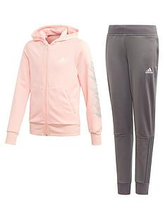 adidas-girls-hood-tracksuit-multi