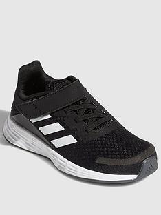 adidas-duramo-sl-childrens-trainer-black-white