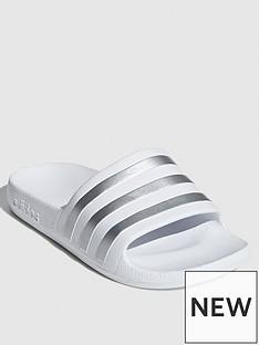adidas-adilette-aqua-sliders-whitesilver