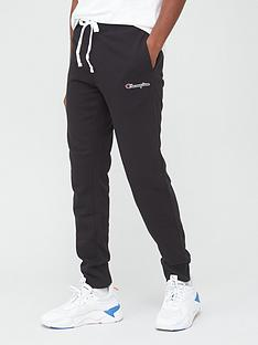 champion-small-logo-joggers-black