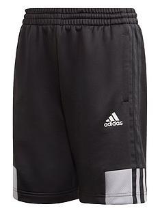 adidas-boys-ar-3-stripes-short-black
