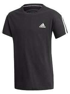 adidas-boys-3-stripes-t-shirt-black