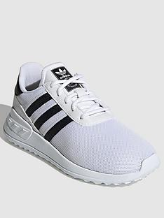 adidas-originals-la-trainer-lite-childrens-trainers-whiteblack