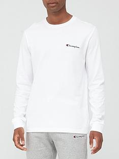 champion-long-sleeve-t-shirt-white