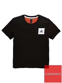 adidas-junior-boys-training-aero-tee-black