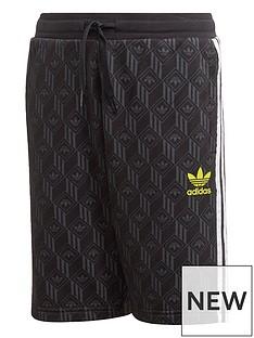 adidas-originals-childrensnbspshorts-black