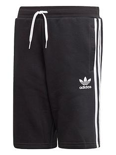 adidas-originals-childrensnbspfleece-shorts-black