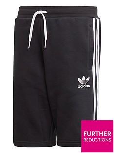 adidas-originals-childrensnbspfleece-shorts-black