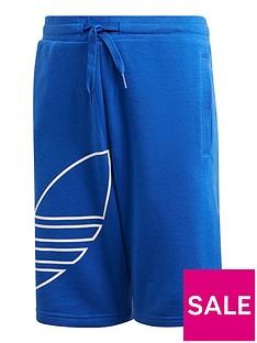 adidas-originals-big-trefoilnbspshorts-blue