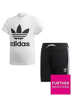 adidas-originals-short-t-shirt-set-whiteblack
