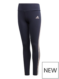adidas-girls-3-stripes-tight--nbspnavy