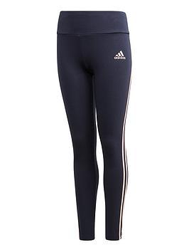 adidas-girls-3-stripes-tight--nbspnavy