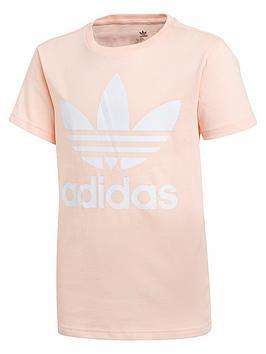 adidas-originals-childrensnbsptrefoil-t-shirt-pink