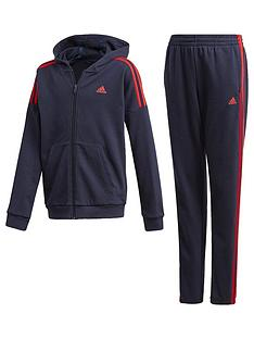 adidas-junior-boys-cotton-tracksuit-navy