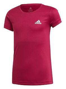 adidas-girls-training-t-shirt-purple