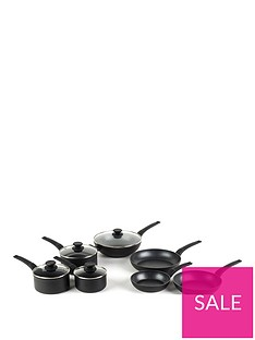 salter-marble-gold-collection-7-piece-pan-set