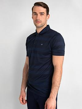 calvin-klein-golf-shadow-stripe-polo-navy-marl