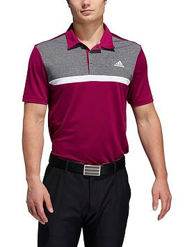 adidas-golf-colourblock-novelty-polo
