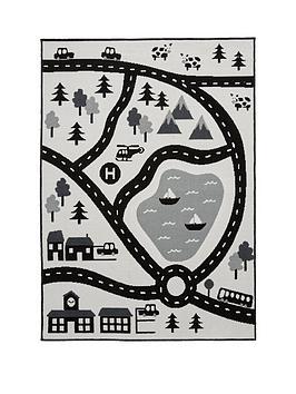 Scandi Roads Rug