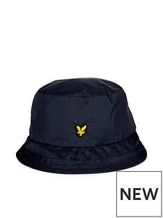 lyle-scott-golf-ripstop-bucket-hat-navy