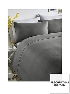serene-waffle-stripe-duvet-cover-set-grey