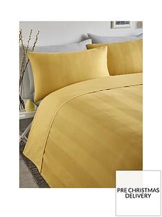 serene-waffle-stripe-duvet-cover-set-ochre