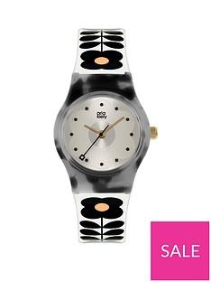 orla-kiely-orla-kiely-mini-bobby-tortoise-shell-case-white-and-black-stem-print-strap-watch
