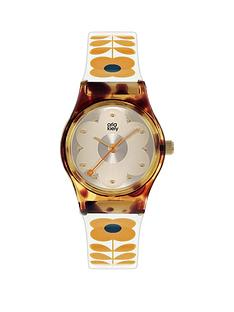 orla-kiely-orla-kiely-mini-bobby-tortoise-shell-case-white-and-tan-stem-print-strap-watch