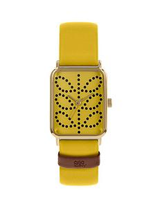 orla-kiely-orla-kiely-yellow-stem-print-tank-dial-yellow-leather-strap-watch