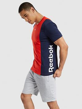 reebok-essentials-blocked-t-shirt-red